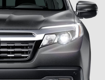 2019 Honda Ridgeline LED headlights