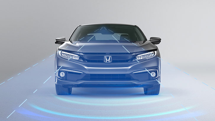 2020 Honda Civic Coupe safety