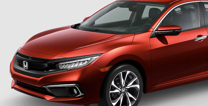 2020 Honda Civic Sedan appearance