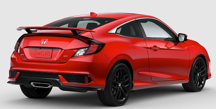 2020 Honda Civic Si Coupe appearance