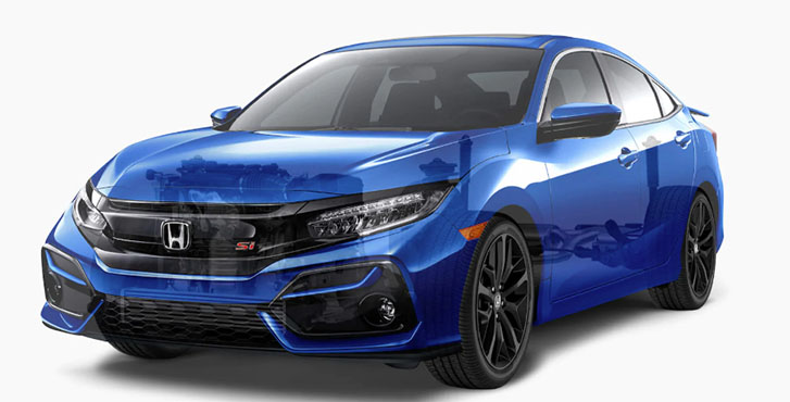 2020 Honda Civic Si Sedan performance