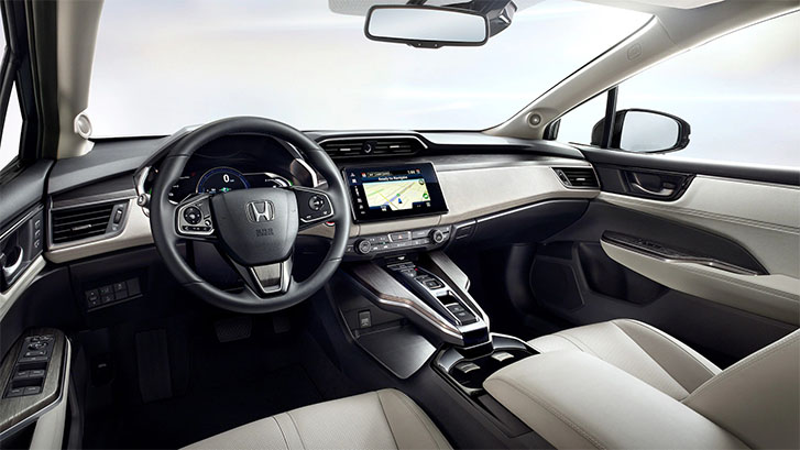 2020 Honda Clarity Fuel Cell comfort