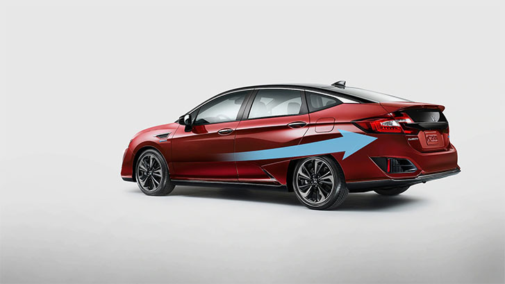 2020 Honda Clarity Fuel Cell performance
