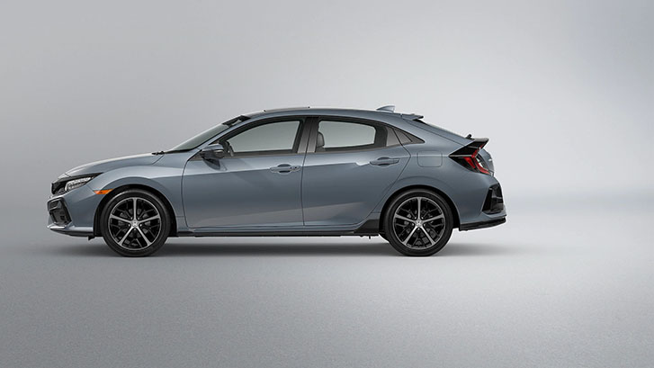 2021 Honda Civic Hatchback appearance