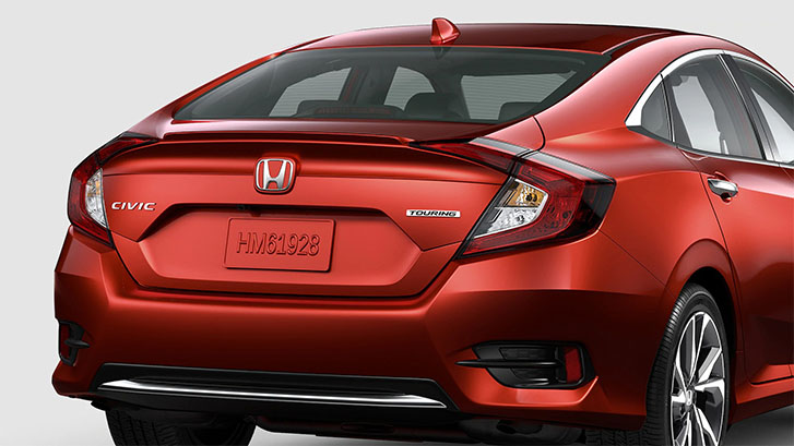 2021 Honda Civic Sedan appearance