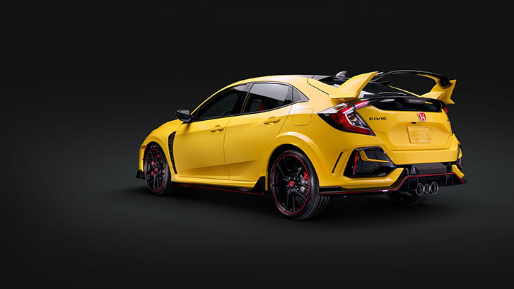 2021 Honda Civic Type R performance