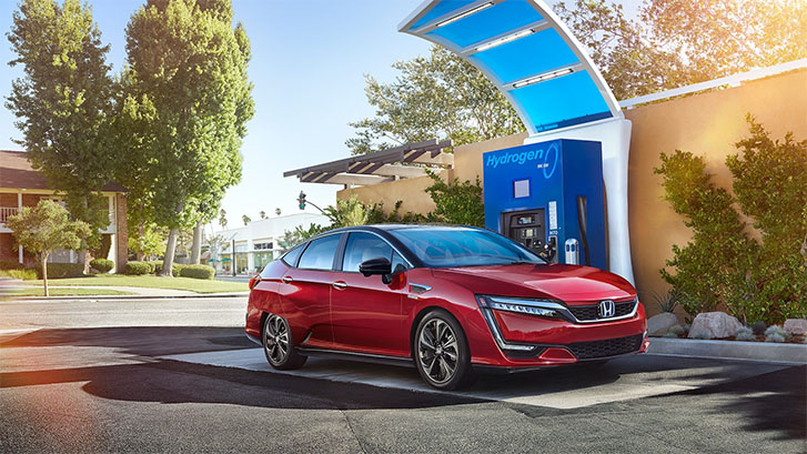 2021 Honda Clarity Fuel Cell performance