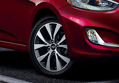 2015 Hyundai Accent appearance
