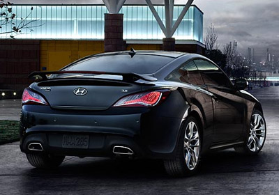 2015 Hyundai Genesis Coupe appearance