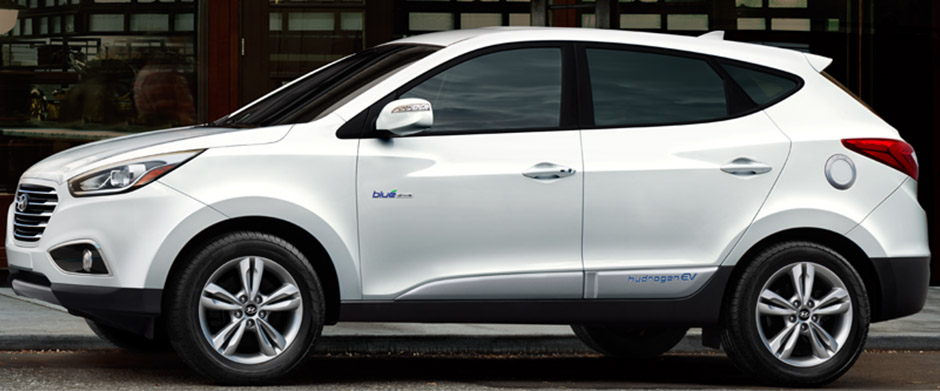 2017 Hyundai Tucson Fuel Cell Main Img