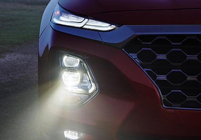 2019 Hyundai Santa Fe LED lighting