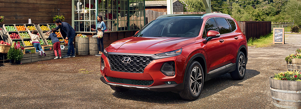 2019 Hyundai Santa Fe Safety Main Img
