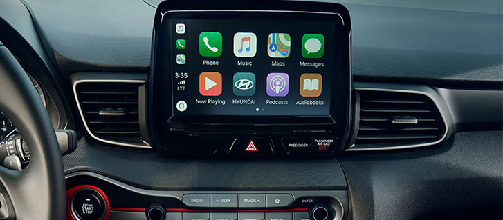 2019 Hyundai Veloster Apple CarPlay / Android Auto
