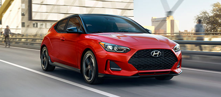 2019 Hyundai Veloster Sport-Tuned Suspension