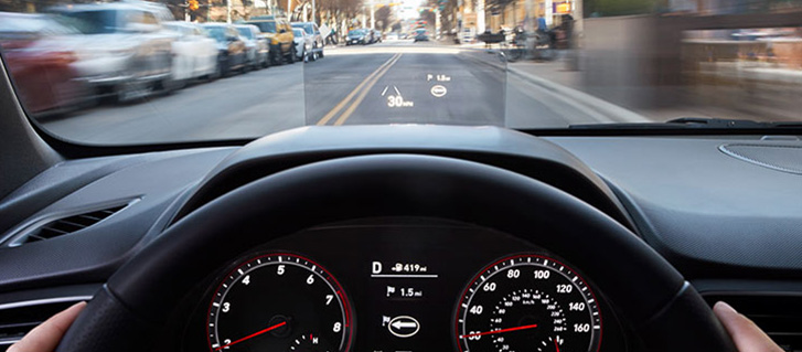2019 Hyundai Veloster Heads-Up Display
