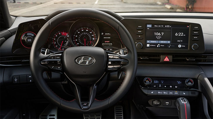 2021 Hyundai Elantra performance
