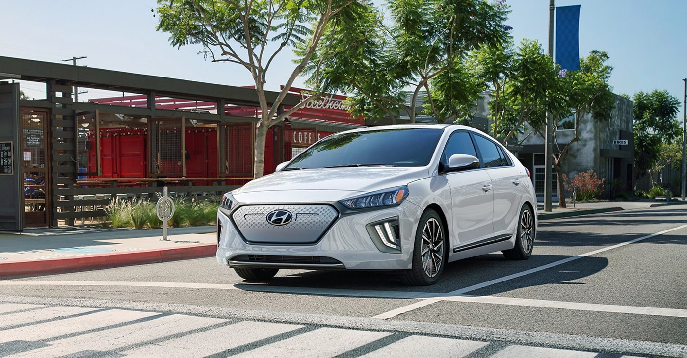 2021 Hyundai Ioniq Electric Appearance Main Img