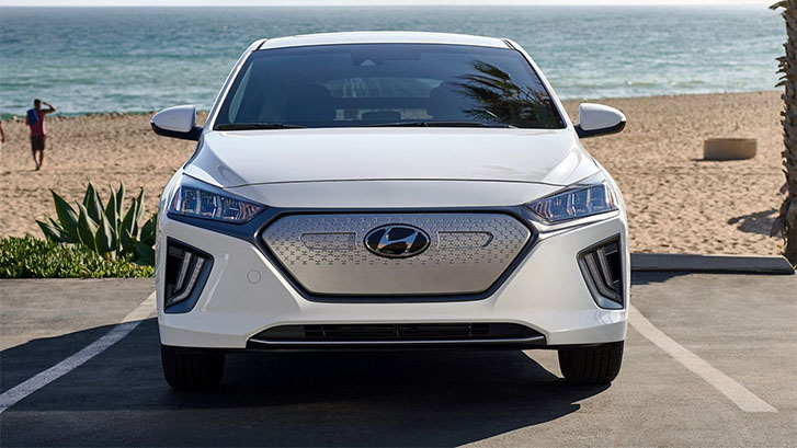 2021 Hyundai Ioniq Electric appearance