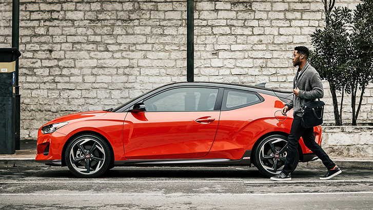 2021 Hyundai Veloster appearance