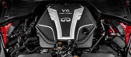 VR-series 3.0-liter Twin-Turbo V6 Engine