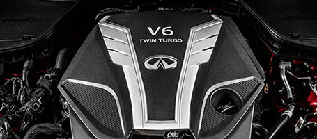ALL-NEW 3.0-LITER V6  TWIN-TURBO 400-HP ENGINE