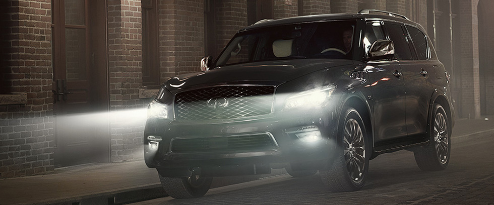 2017 QX80 Appearance image