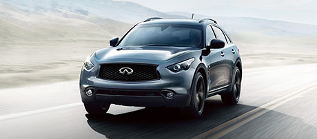 2017 INFINITI QX70 performance