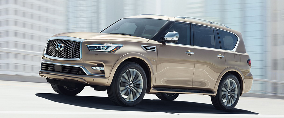 2018 Infiniti QX80 overview image