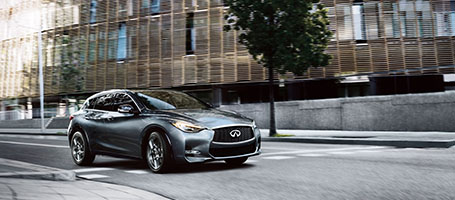 2018 INFINITI QX30 performance