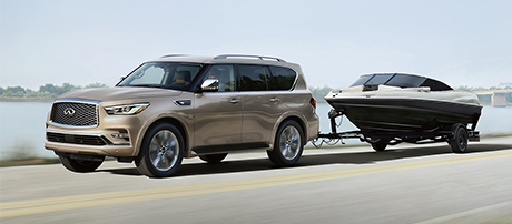 2018 INFINITI QX80 performance