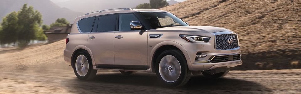 2018 INFINITI QX80 Safety Main Img