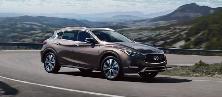 2019 INFINITI QX30 performance