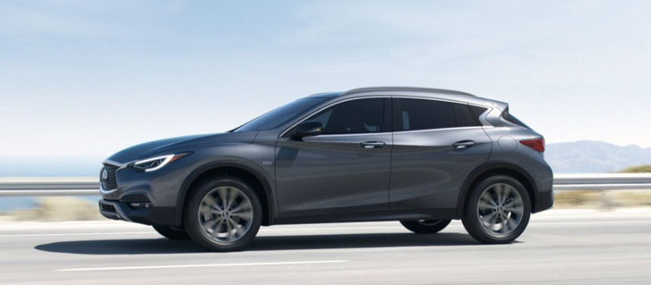 2019 INFINITI QX30 safety