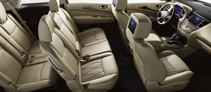 2019 INFINITI QX60 Seating For Seven