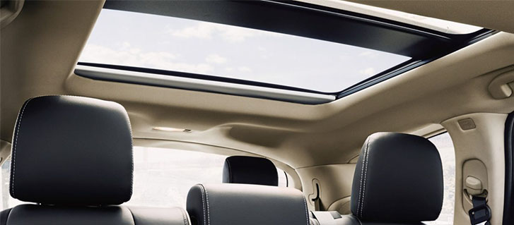 2019 INFINITI QX60 panoramic moonroof