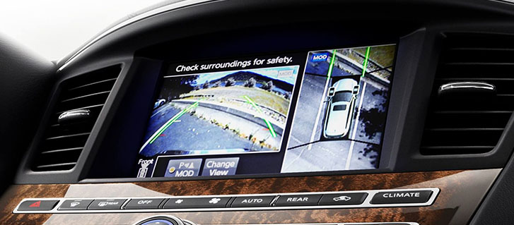 2019 INFINITI QX60 Around View Monitor system