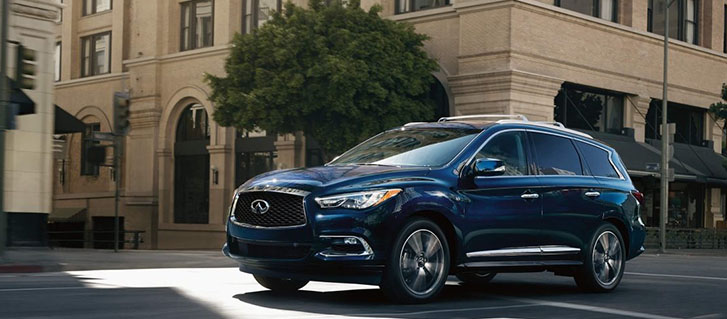 2019 INFINITI QX60 Blind Spot Warning