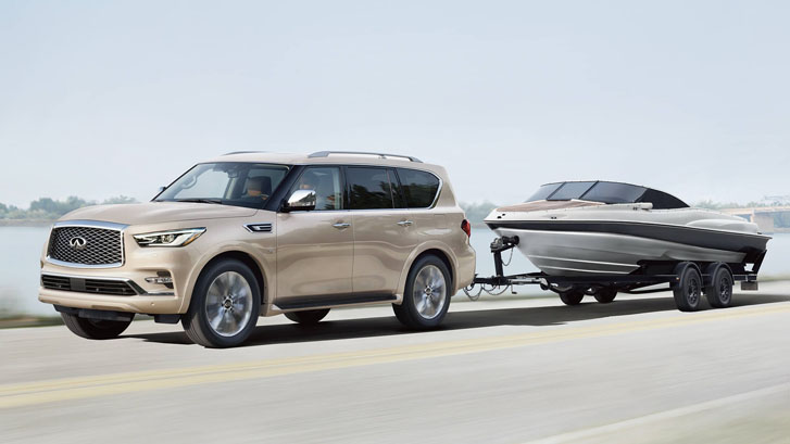 2020 INFINITI QX80 performance