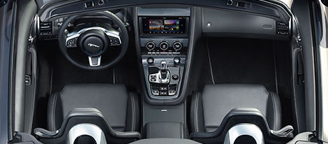 2019 Jaguar F-Type Interior