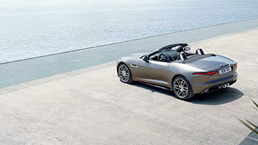 2020 Jaguar F-Type appearance