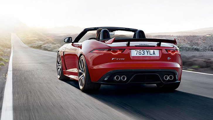 2020 Jaguar F-Type performance