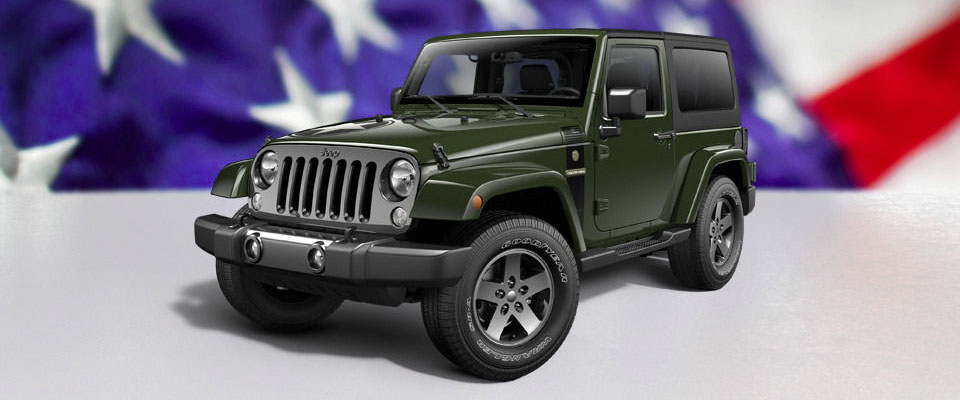 2016 Jeep Wrangler Main Img
