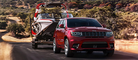 2017 Jeep Grand Cherokee SRT performance