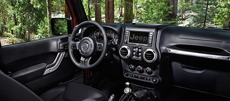 A Rugged, Yet Refined Interior