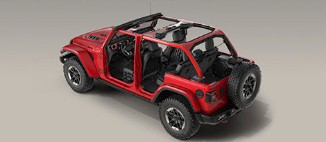2018 Jeep Wrangler safety