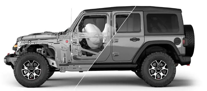 2019 Jeep Wrangler safety