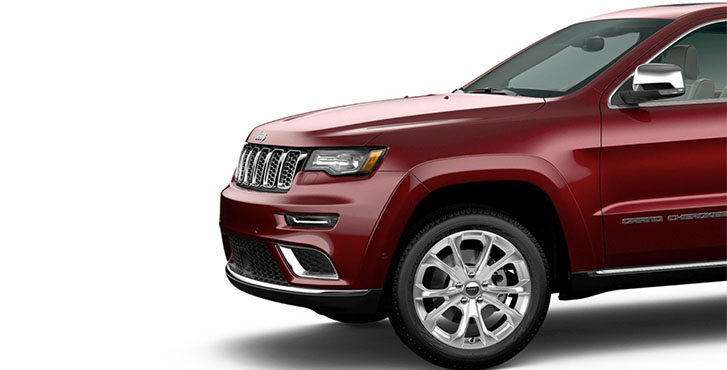 2020 Jeep Grand Cherokee appearance