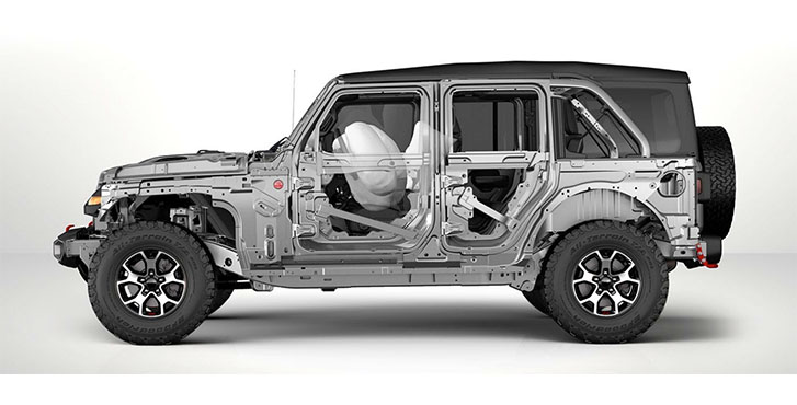 2020 Jeep Wrangler safety