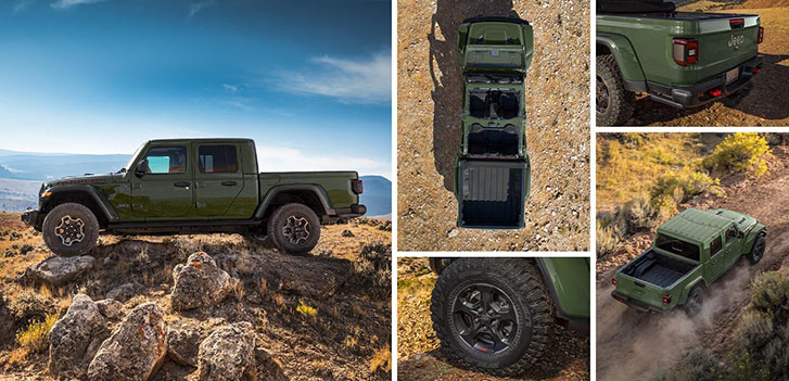 2021 Jeep Gladiator appearance