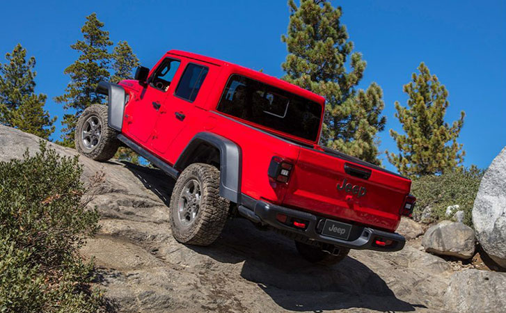 2021 Jeep Gladiator performance
